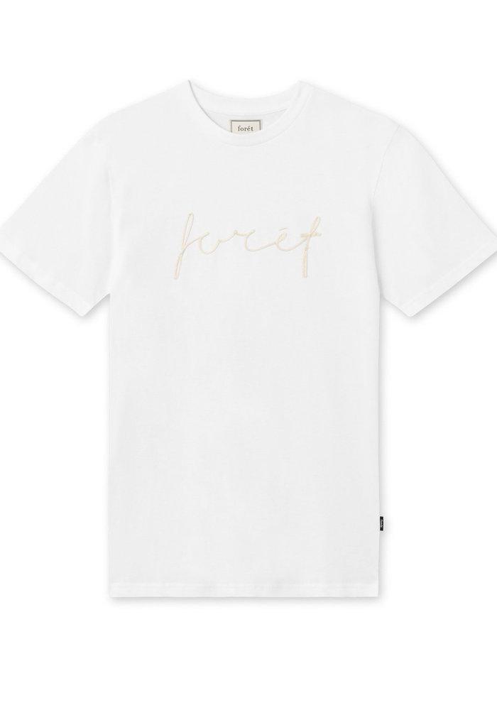 Forét Slope T-Shirt White Gold