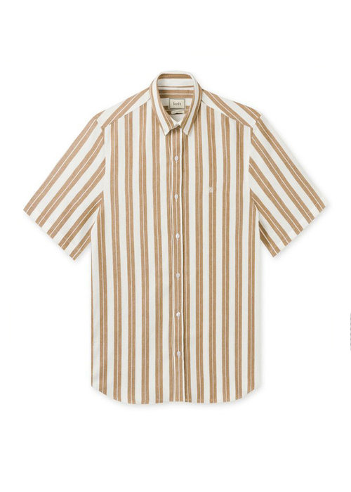 Forét Forét Shirt Elm White Tan