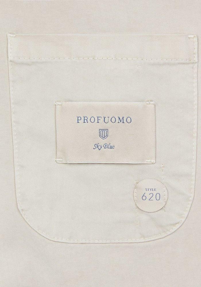 Profuomo PPRP1C0036 Jacket Garment Dye Beige