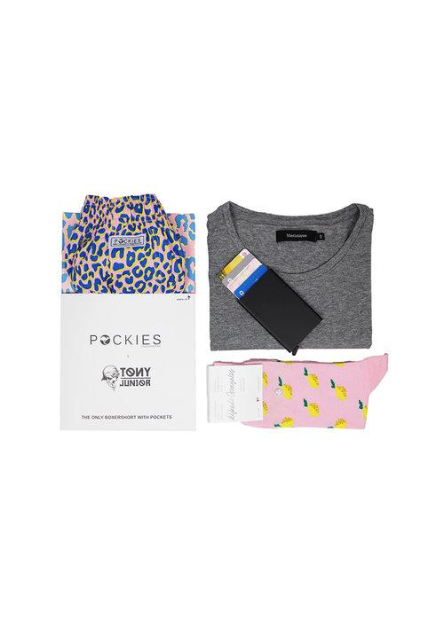 Fathersday Giftset Greyish Pink Panther