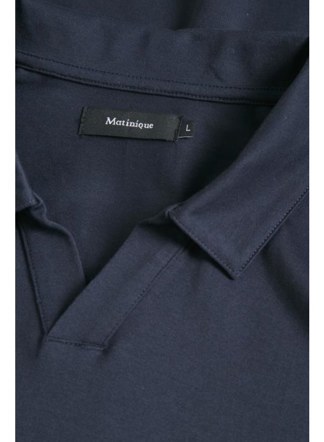 Matinique 30204784 Magamon LS Smooth Jersey Dark Navy