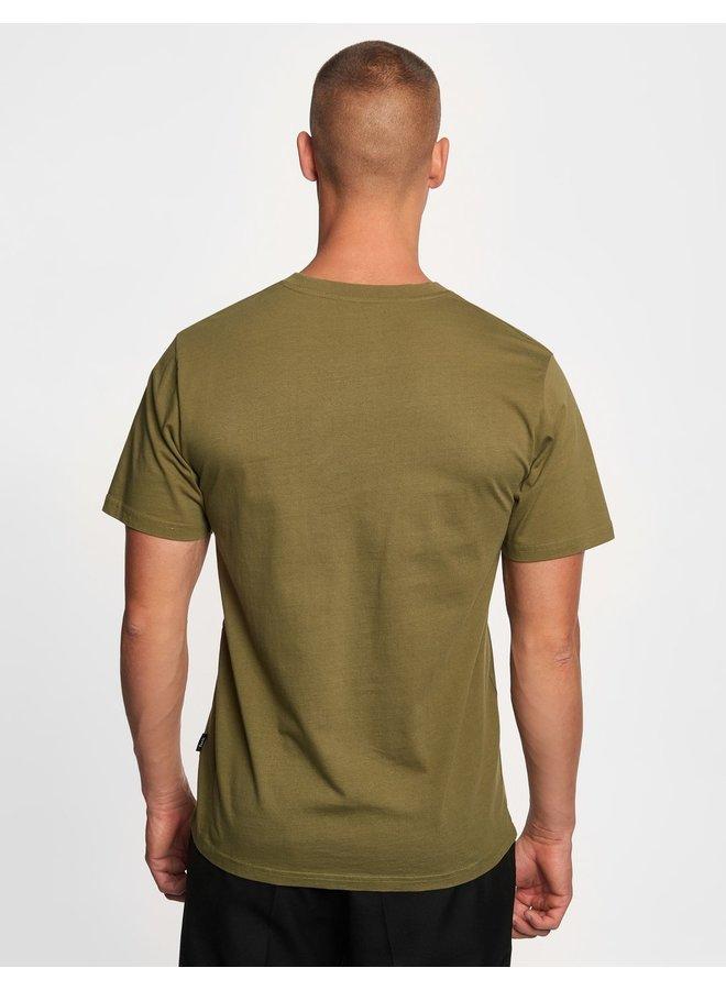 Forét Fish T-Shirt Olive