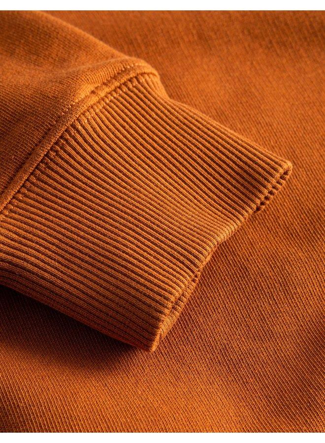 Foret Track Sweatshirt Brick