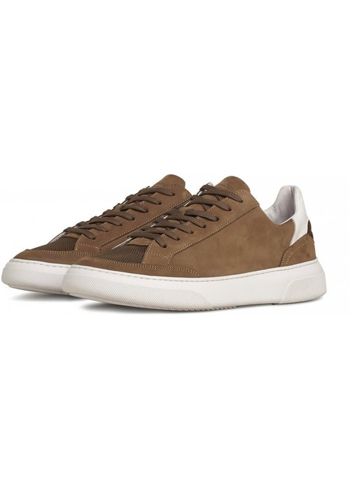 Garment Project Garment Project Sneaker Off Court Taupe Nubuck