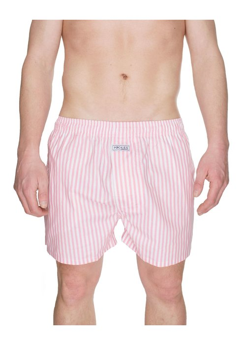 Pockies Underwear Pockies Underwear Boxer Pink Stripes