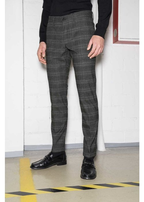 Drykorn Drykorn Mad Chino Grey Checkered