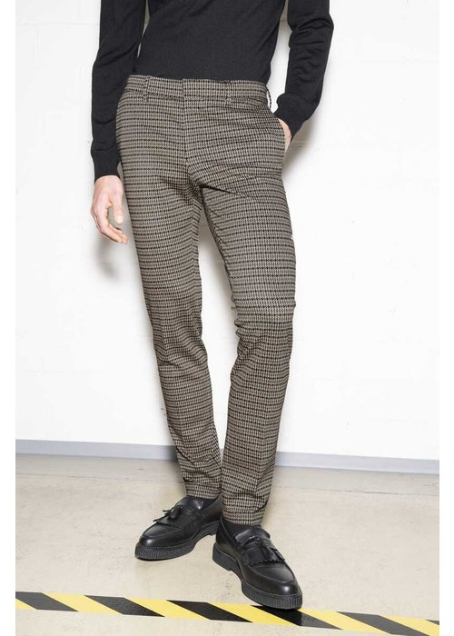 Drykorn Drykorn 40427-1720 Sight Chino Beige Houndstooth