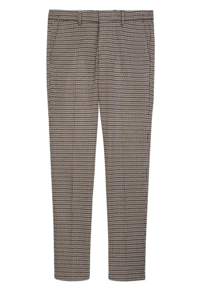 Drykorn Sight Chino Beige Houndstooth