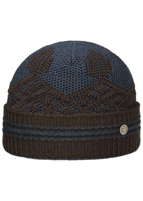 Stetson Stetson 8599350 62 Beanie Wool/Acrylic Brown Blue