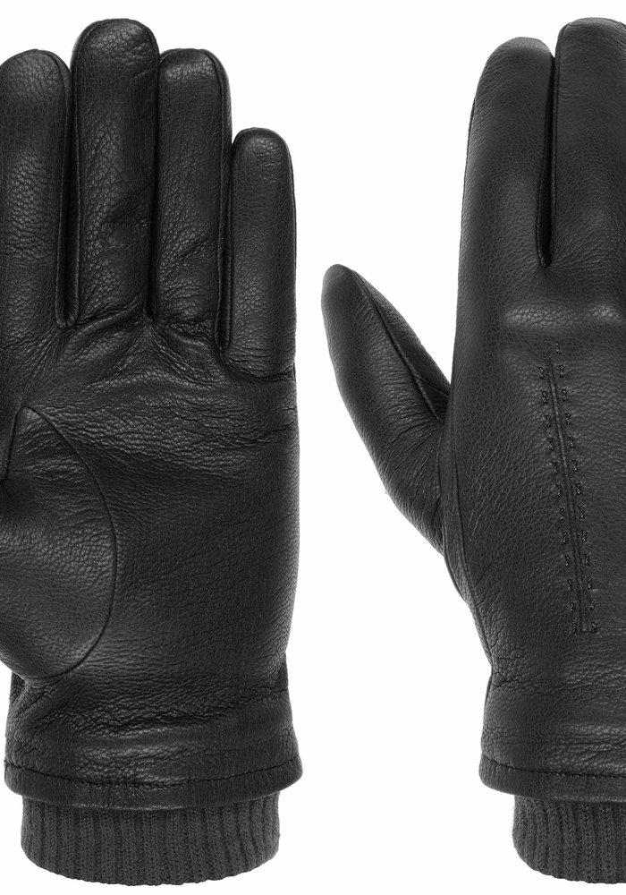 Stetson Gloves Goat Nappa Black