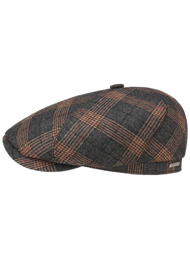 Stetson 6-Panel Cap Wool Check