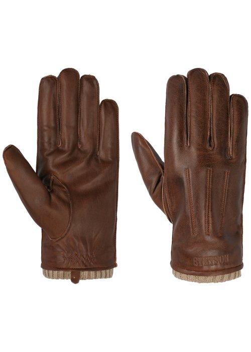 Stetson Stetson 9497507 61 Gloves Sheepskin Brown