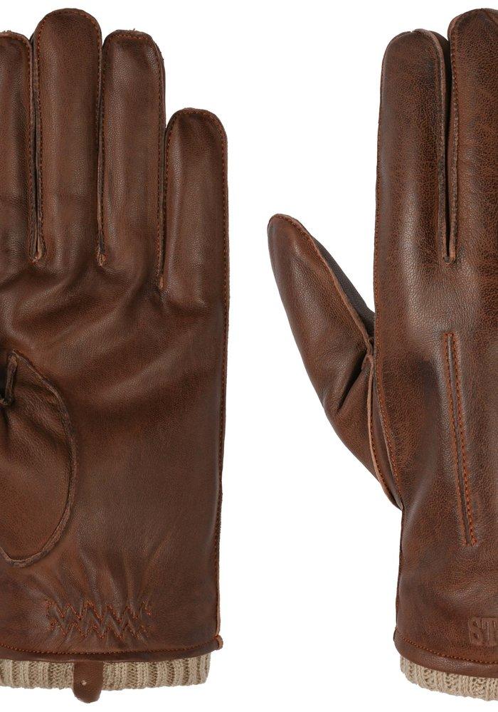 Stetson 9497507 61 Gloves Sheepskin Brown