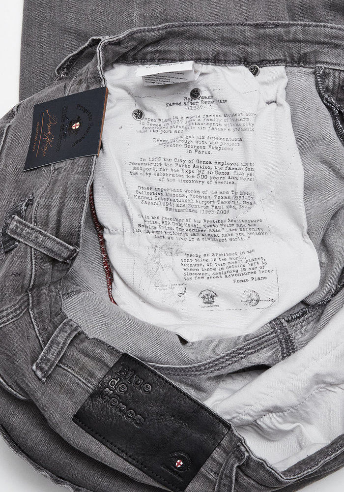 Blue De Genes Repi Giulio Light Jeans Grey