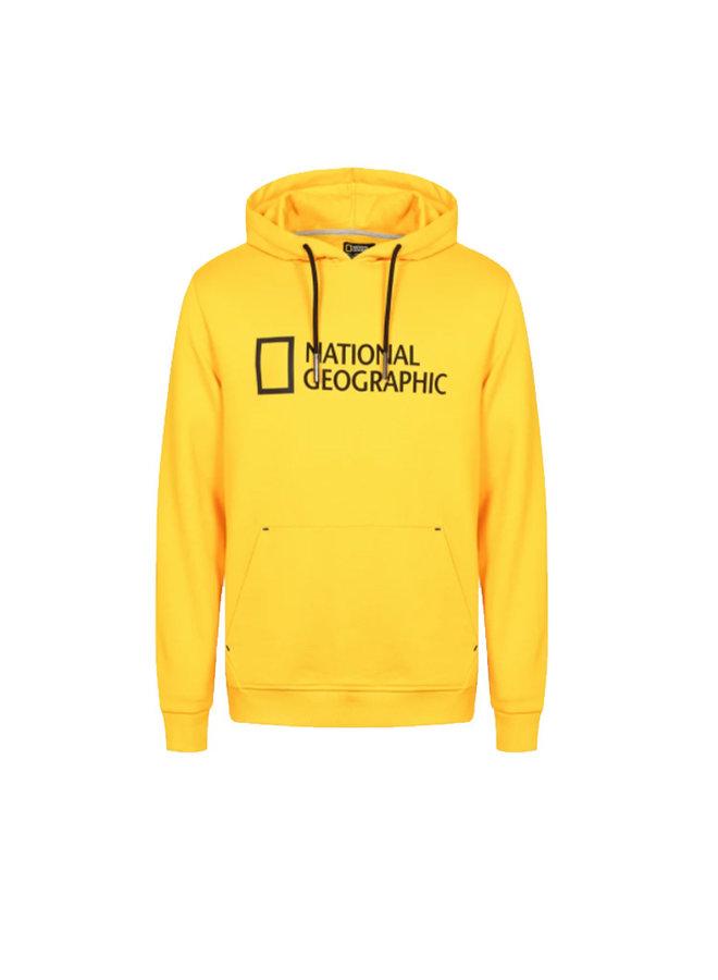 National Geographic Logo Hoodie Lemon Chrome