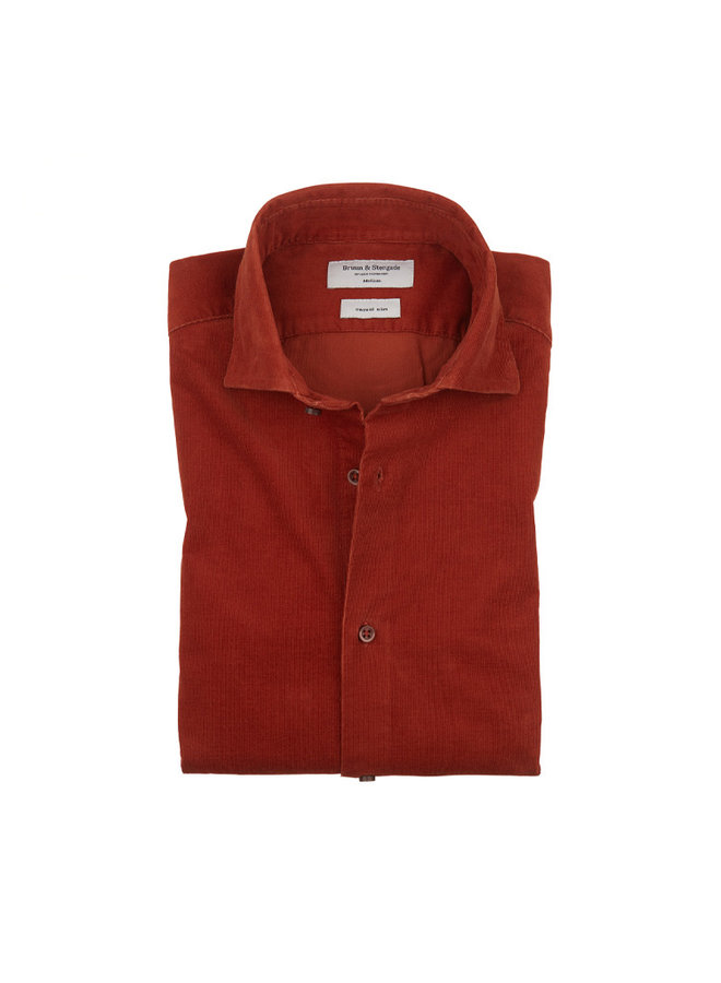 Bruun & Stengade Kyoto Shirt Orange