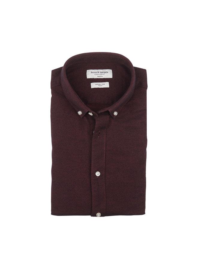 Bruun & Stengade Osaka Shirt Bordeaux