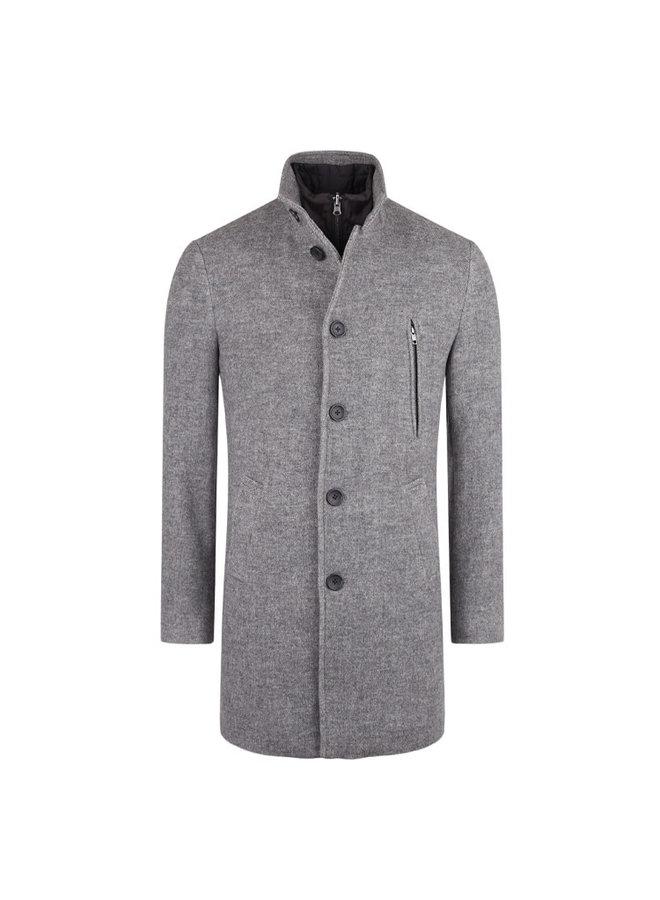 Bruun & Stengade Ontario Slim Fit Grey