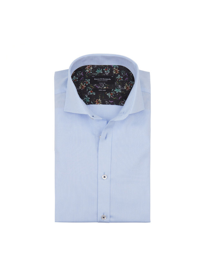 Bruun & Stengade Shirt Fosu Light Blue