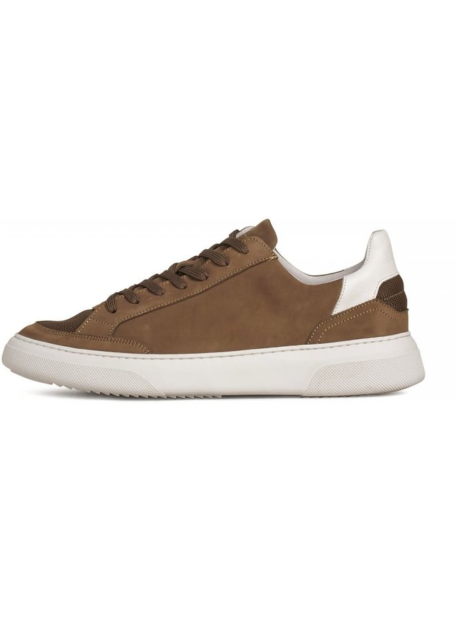 Garment Project Sneaker Off Court Taupe Nubuck