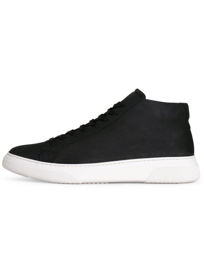 Garment Project Sneaker Type Mid Navy Nubuck