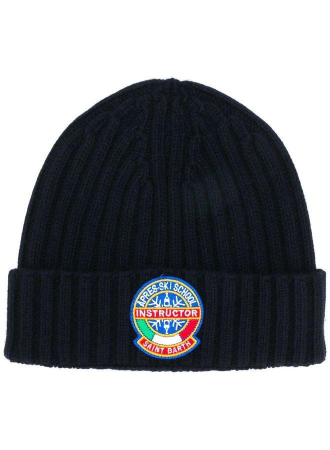 Mc2 Saint Barth 65050090-61 Wengen Knitted Cap Navy Blue