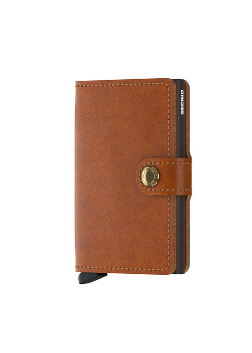 Secrid Secrid Miniwallet Original Cognac Brown