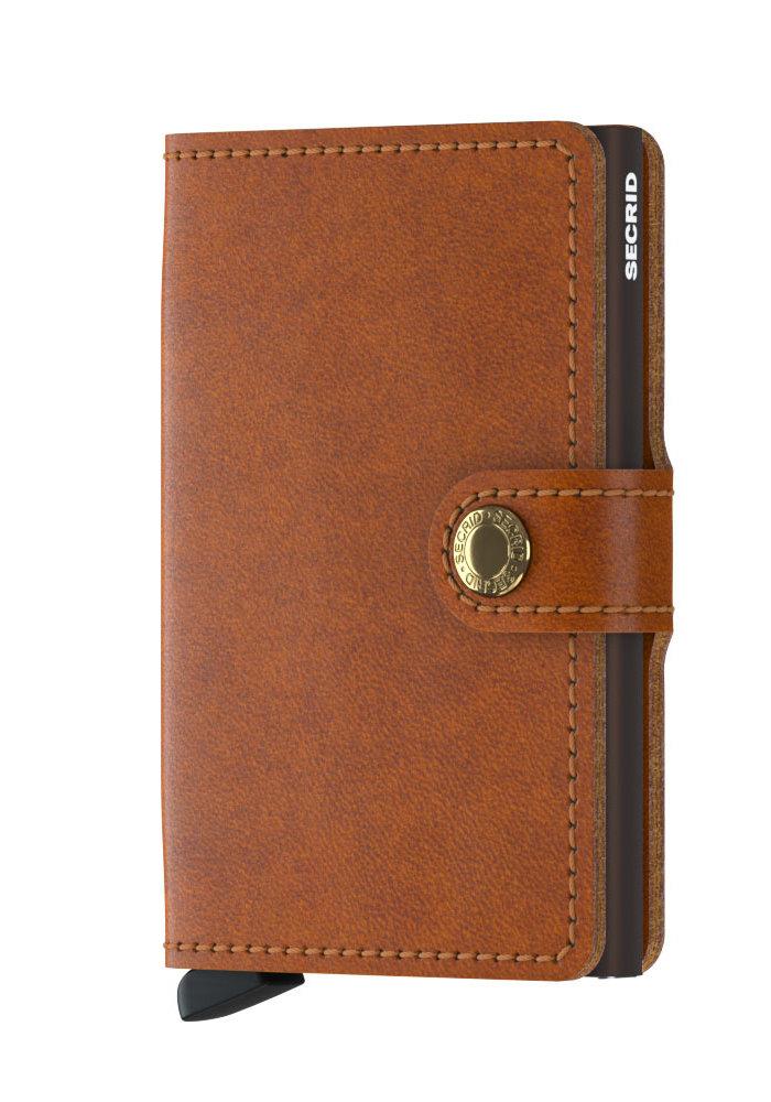 Secrid Miniwallet Original Cognac Brown