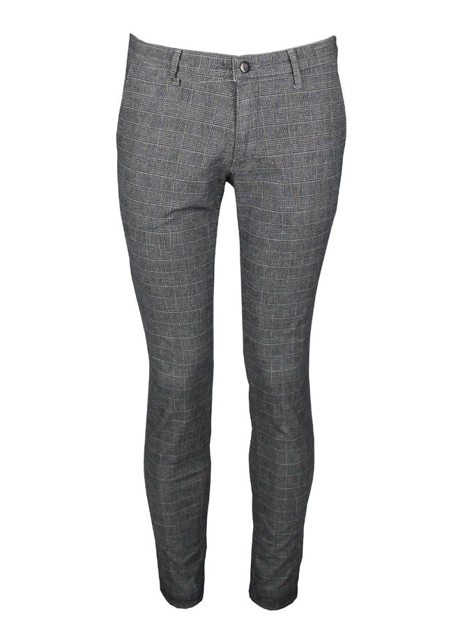 Four.Ten Industry T910 Chino Grey Mix Checkered