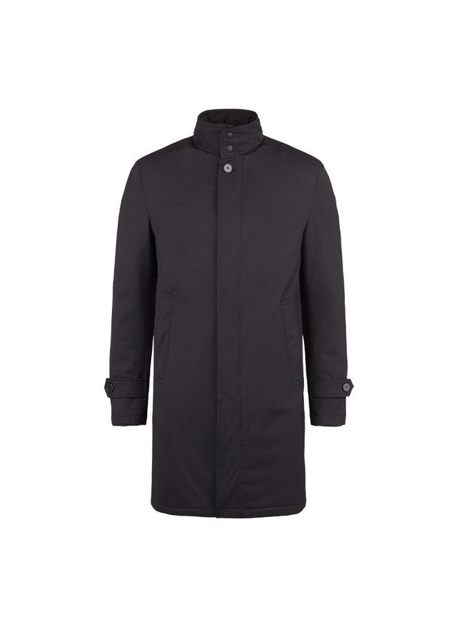 Bruun & Stengade Coat Quebech Slim Fit  Black M