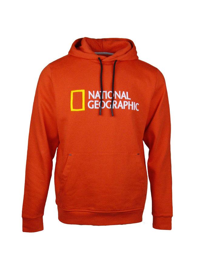 National Geographic  Logo Hoodie Pumpkin Orange