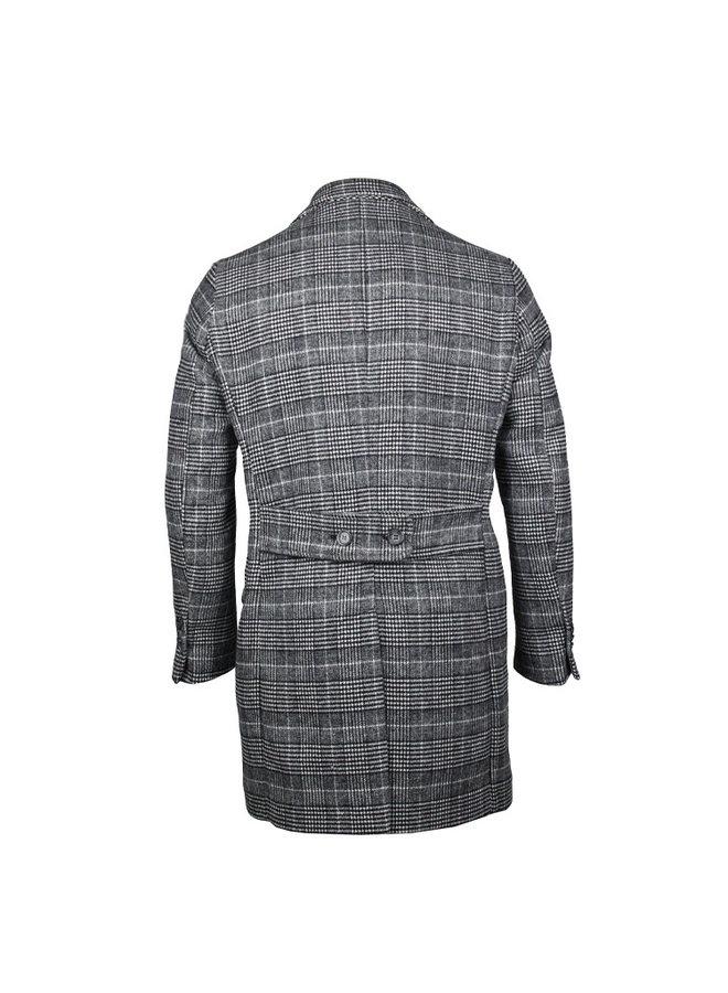 QB 24 Palermo Capotto Coat Black