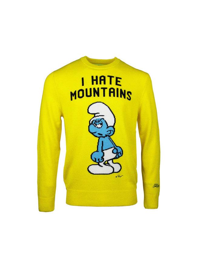 Mc2 Saint Barth Angry Smurf pullover Yellow