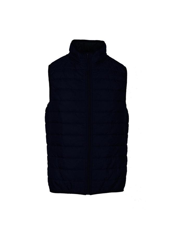 QB 24 Piumino Vest B041 Blue