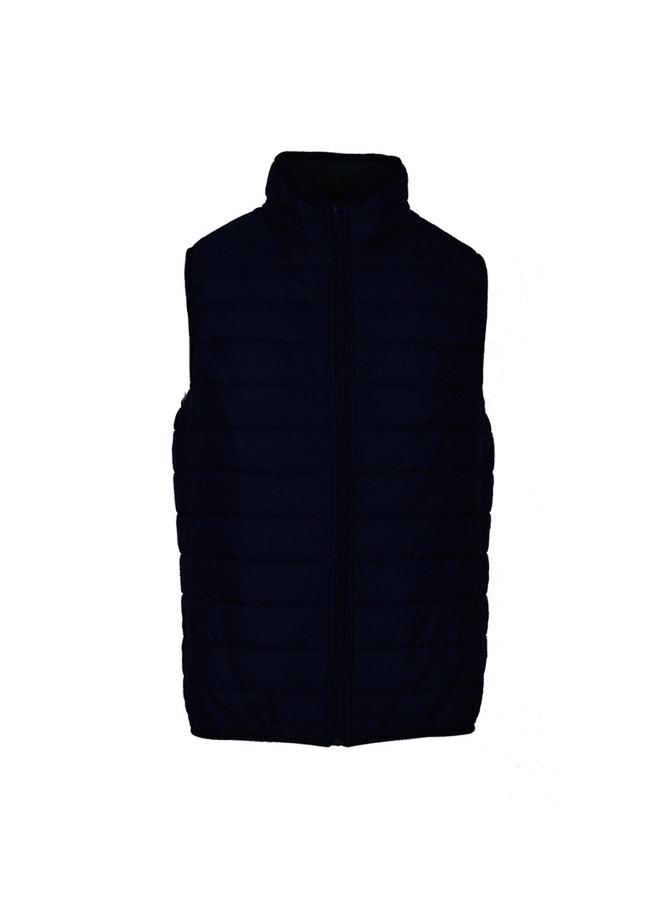 QB24 Piumino Vest B041 Blue
