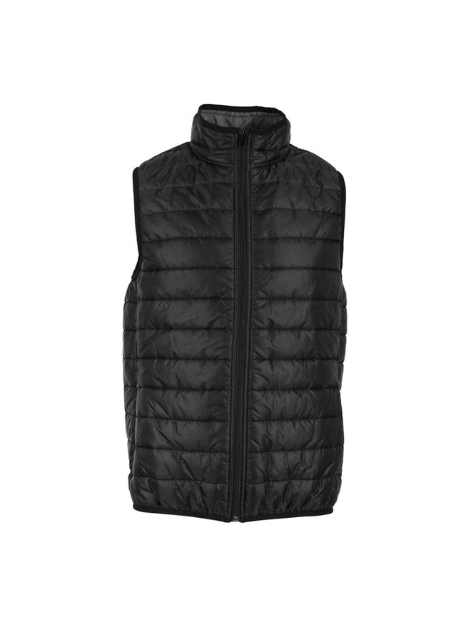 QB 24 Piumino Vest B001 Black