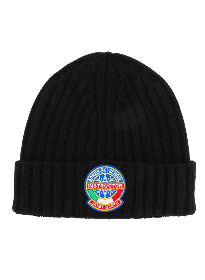 Mc2 Saint Barth Wengen Knitted Cap Black