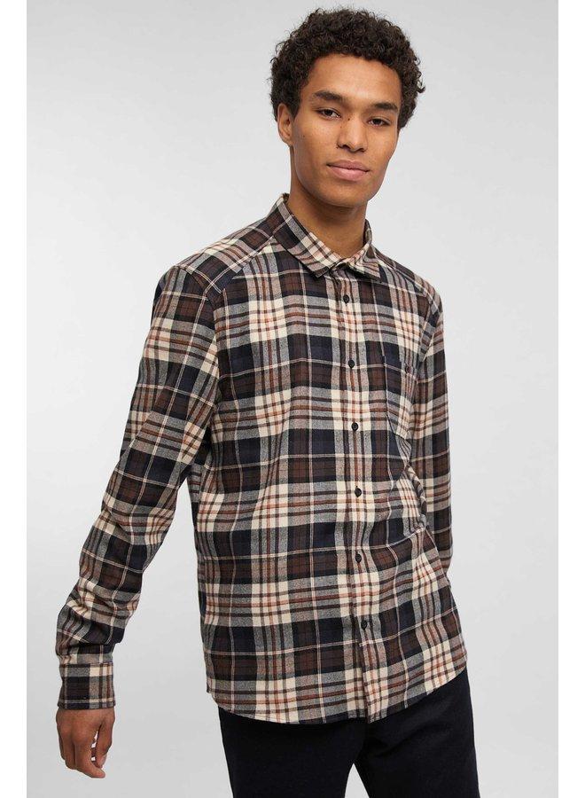 Drykorn Oshaa Shirt Brown Checkered