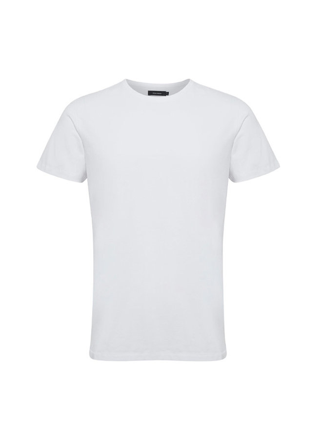 Matinique Jermalink Cotton Stretch T-shirt White