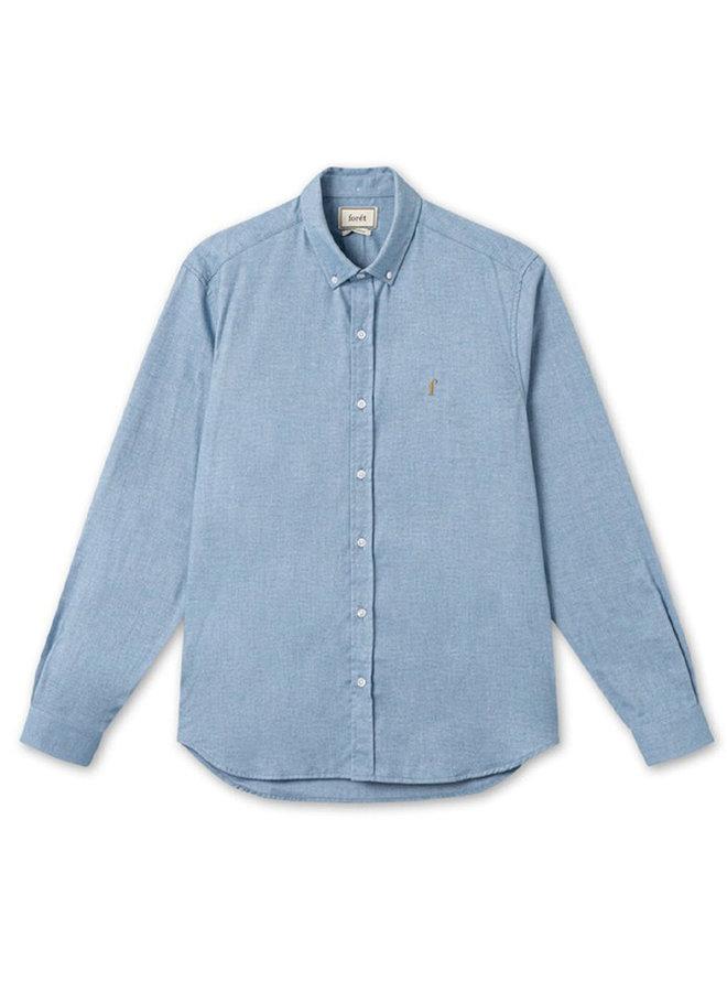 Forét Craft Shirt Light Blue