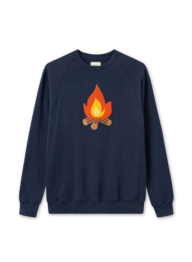 Foret Heat Sweatshirt Navy