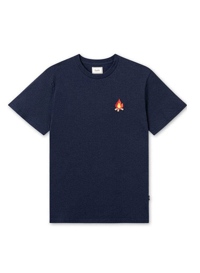 Forét Glow T-Shirt Navy