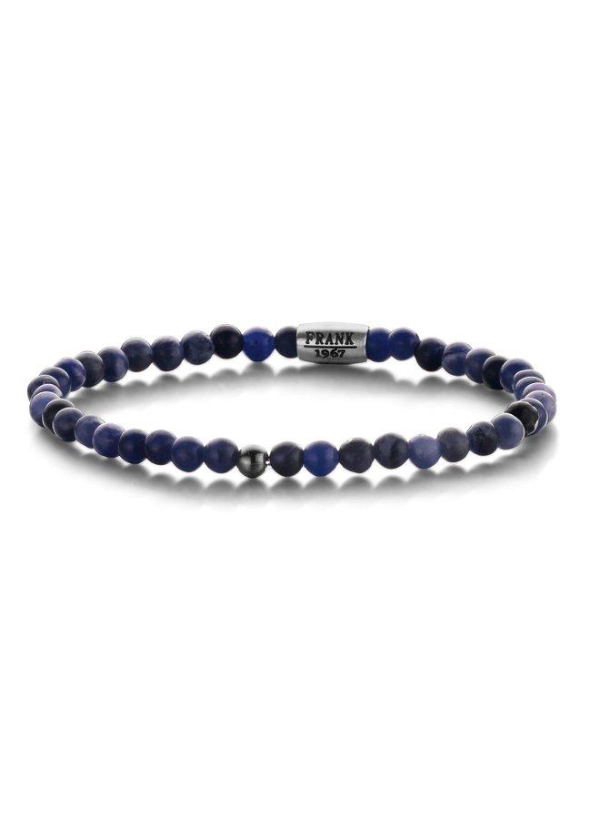 Frank 1967 7FB-0317 Bracelet Natural Stone Beads Blue