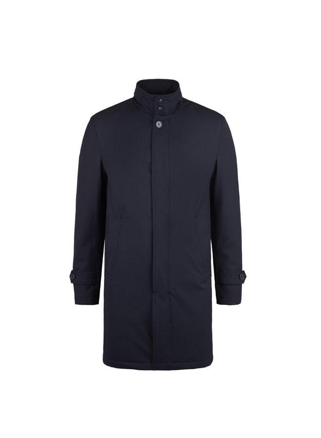 Bruun & Stengade Coat Quebech Slim Fit Navy