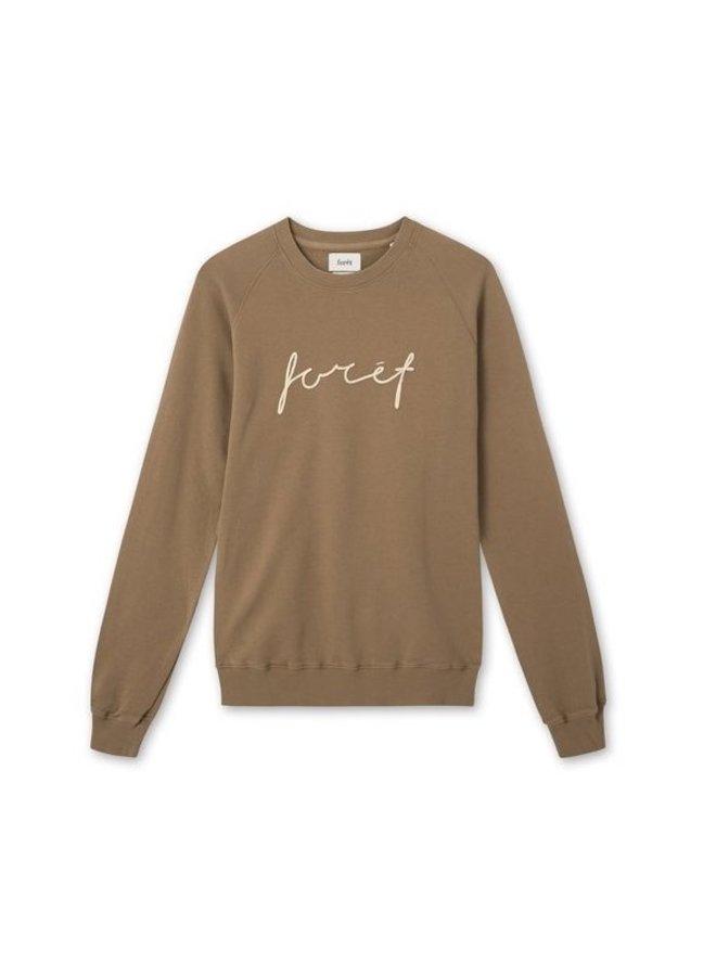 Forét Track Sweatshirt Stone