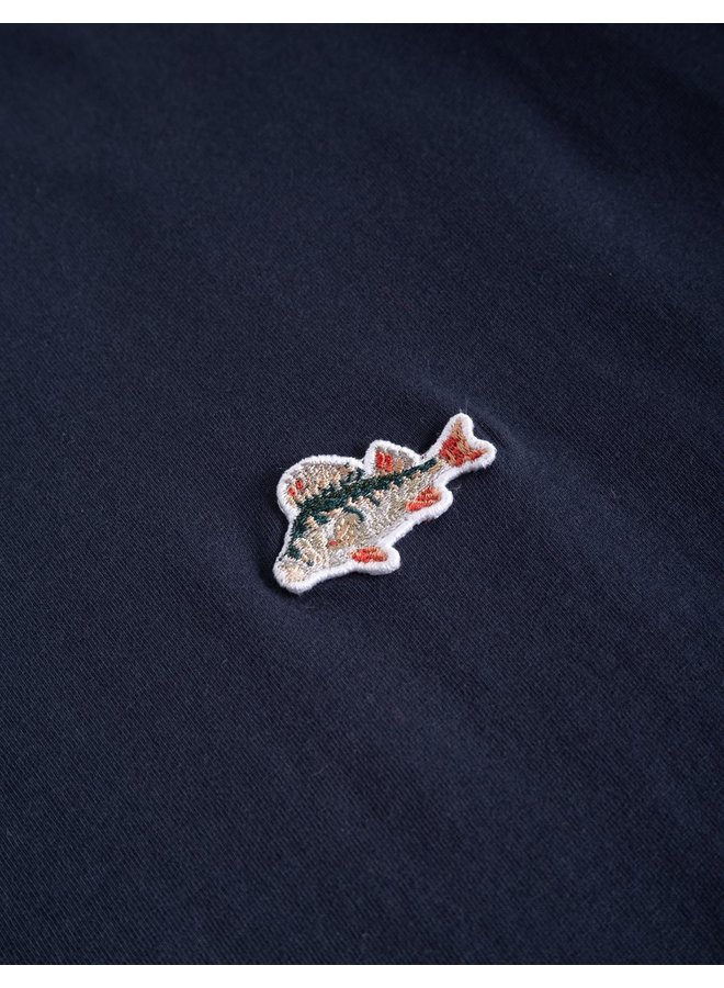 Forét Fish T-Shirt Navy