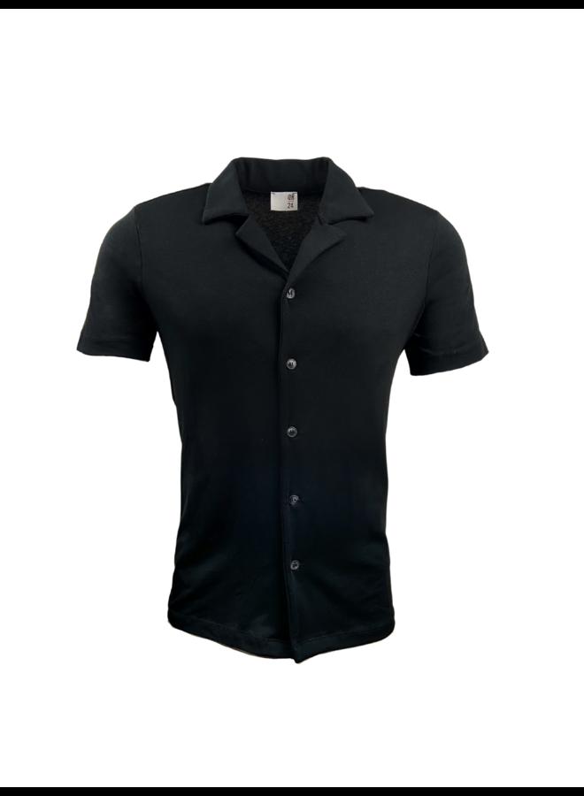 QB24 Camicia Shirt Nero Black