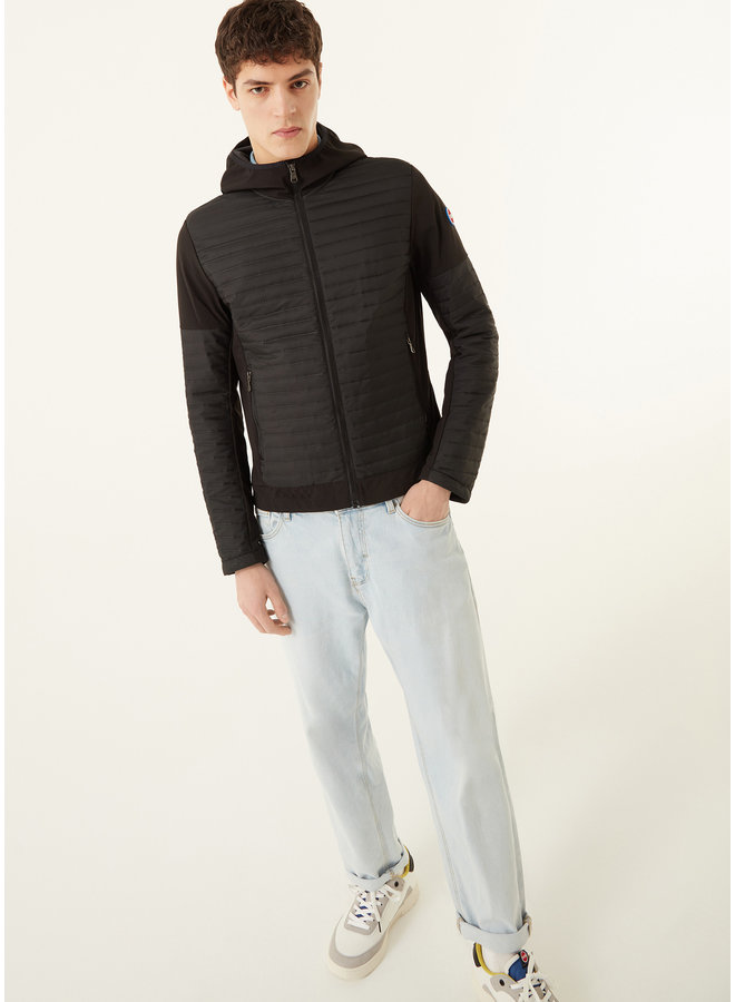 Colmar Hooded Jacket Softshell Insert Black