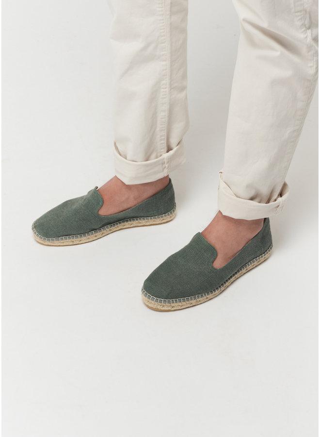 Espadrij L'orignale Loafer Linen vert