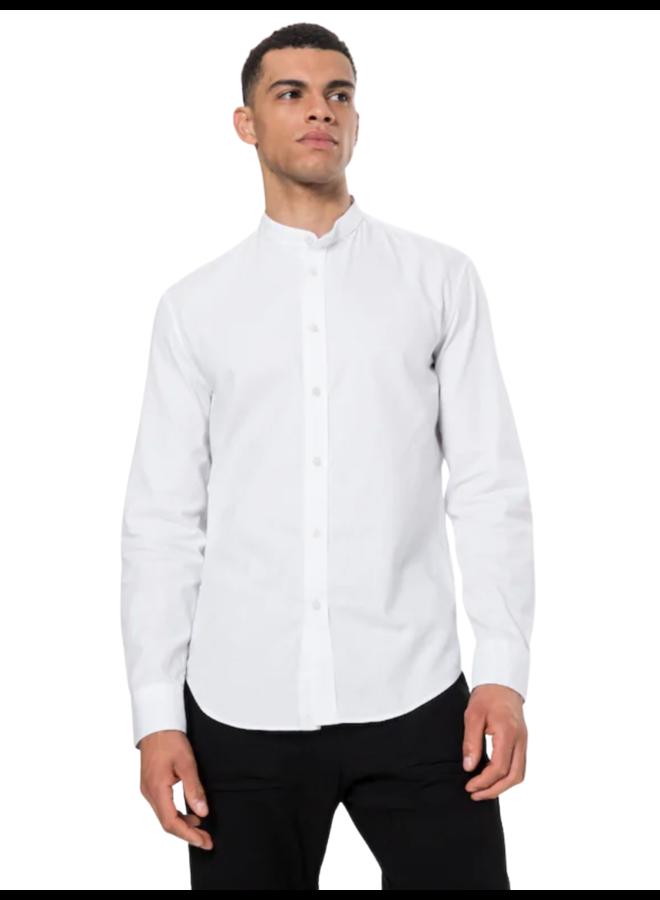 Drykorn Shirt Tarok Mao Cotton White